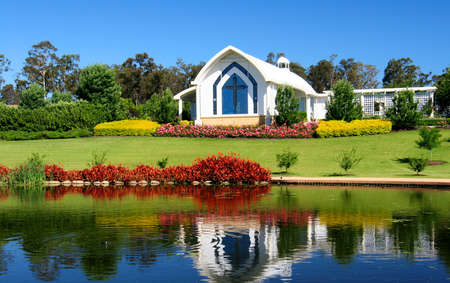 nsw: A small Chapel in the Hunter Valley, NSW, Australia