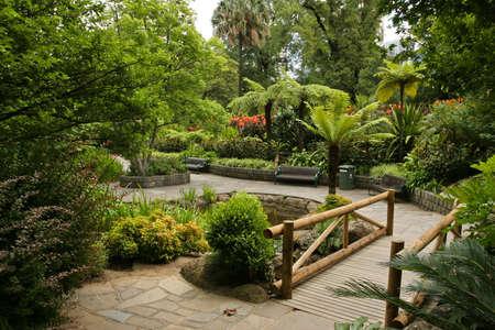 Garden landscape Stock Photo - 4090163