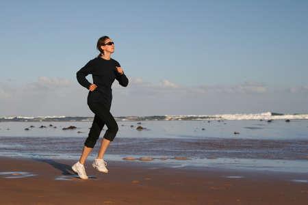 Running woman Stock Photo - 4171878