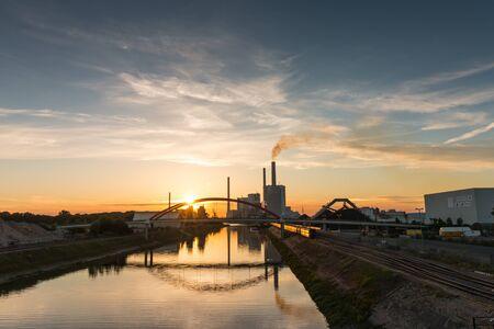 Energiecentrale in Mannheim