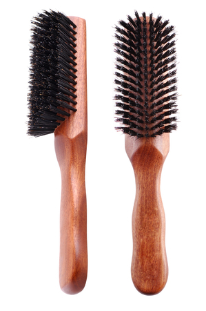dryer: Professional combs isolated on white