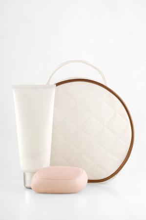 Gift set cosmetic bag
