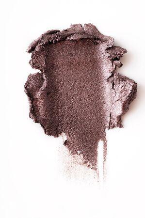 crushed eyeshadow isolated on white background Imagens - 88482548