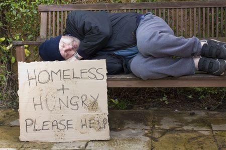 vagabundos: Personas sin hogar