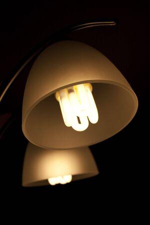 Fluorescent lamp in a chandelier Reklamní fotografie
