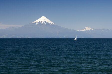 Osorno Volcano, Chile Stock Photo