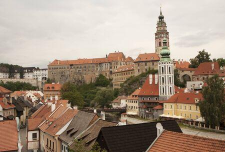 View at Cesky Krumlov, Czech Republic