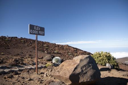 Haleakala mountain in 10000 feet, Maui, Hawaii Reklamní fotografie