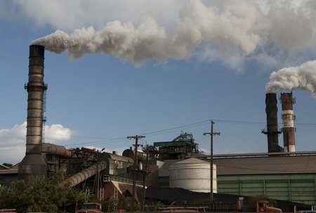 Vintage sugar mill at Maui, Hawaii