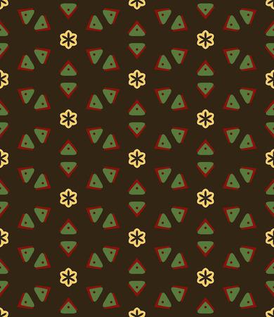 graphic art: seamless geometric pattern Illustration