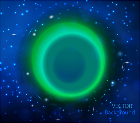 cold fusion: vector abstract background