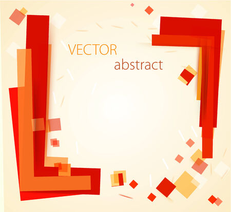 disorderly: vector abstract chaotic background