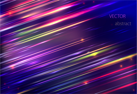 hosszú expozíció: vector abstract background with colorful motion blur shining