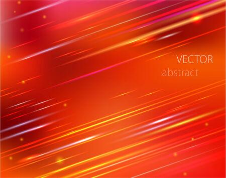 hosszú expozíció: vector red abstract background with colorful motion blur shining Illusztráció