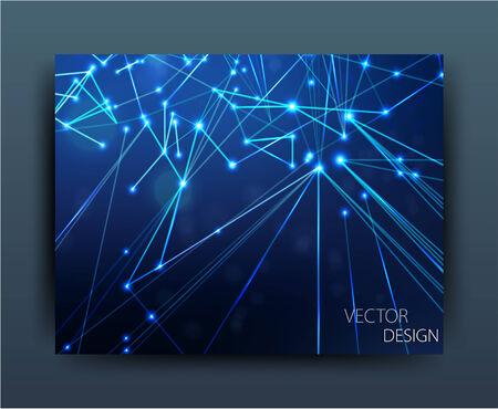 leftovers: vector business flyer template or corporate banner design  Illustration