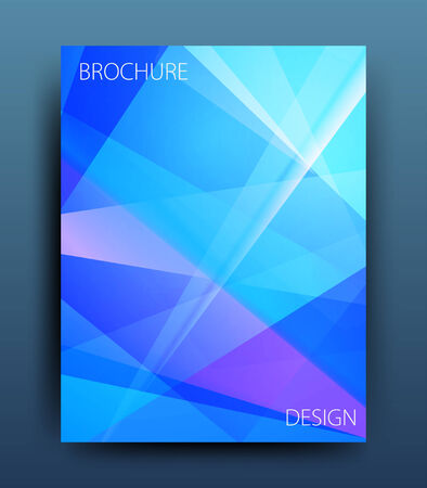 catalog background: vector business flyer template or corporate banner design