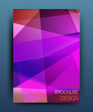 broadsheet: Template Vector business brochure o volantino banner design aziendale