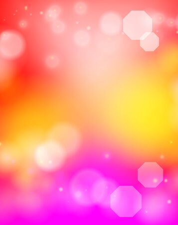 Vector abstract colored delicate background with bokeh effect 版權商用圖片