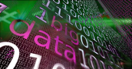 programming code: Big data visualization on computer code and programming abstact background.