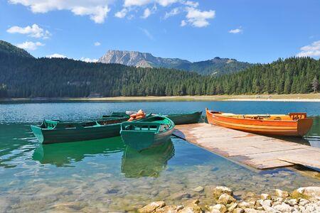 montenegro: Montenegro. National Park. Black lake