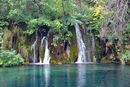 southeast europe: National Park Plitvice lakes is the oldest national Park in Southeast Europe and the largest national Park in Croatia