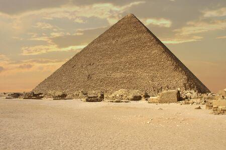 cheops: The pyramid of Pharaoh Cheops