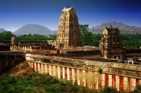 karnataka: Hampi, Karnataka, India Foto de archivo