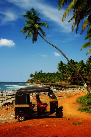 tuk-tuk in Goa photo