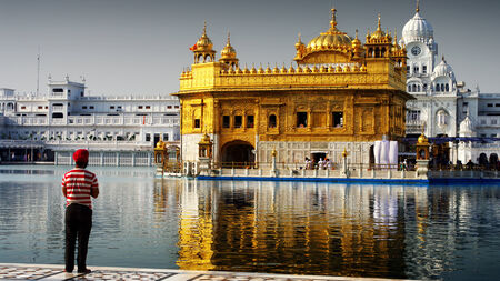prior lake: golden temple of Amritsar