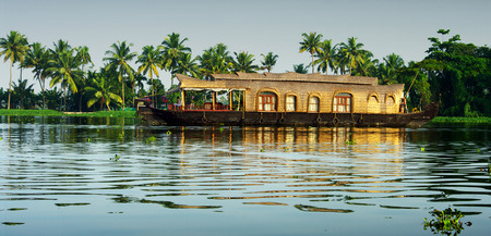 allepey: backwaters of Kerala
