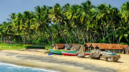 fishing village: fishing village Editorial