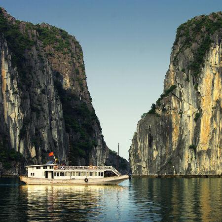 halong: Halong Bay, Vietnam Stock Photo