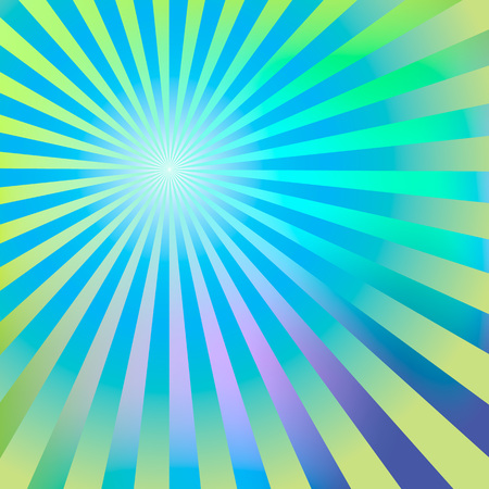 blue green background: Abstract background blue green rays