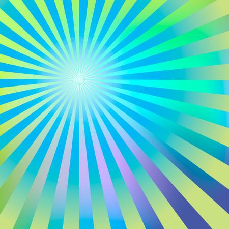 Résumé de fond rayons verts bleus Banque d'images - 59844454
