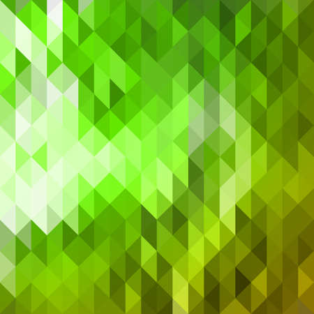 Abstract green triangle background for design Stock Illustratie