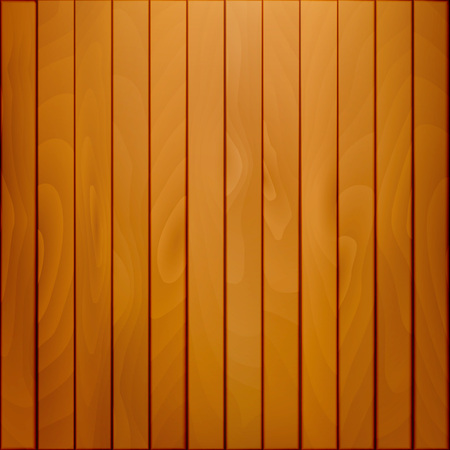Background with wood texture. Natural color wood. Vector. 矢量图像