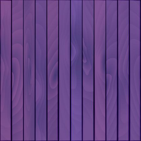 Background of violet wooden boards. Vector background
