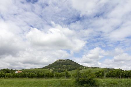 hungary: Balaton highlands in Hungary