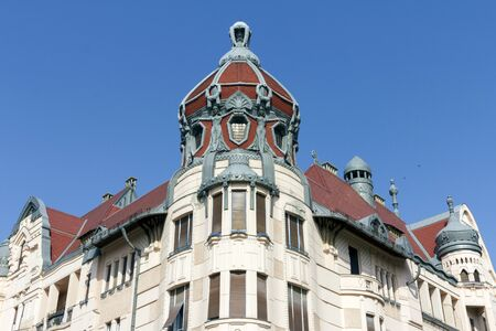 Unger–Mayer palace in Szeged, Hungary Editorial