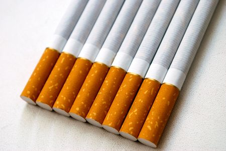 killing cancer: 8 cigarettes with a flavor filter