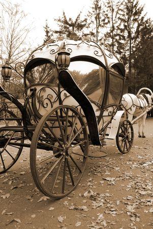 Fairy Tale trasporto Archivio Fotografico