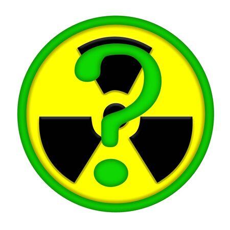 nuke plant: Problemas de la energ�a nuclear  Foto de archivo