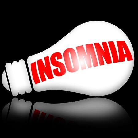Insomnia Banque d'images