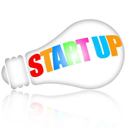 Start up business concept photo