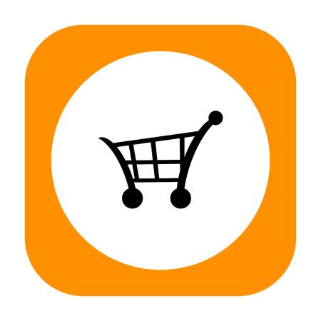 Shopping cart icon photo