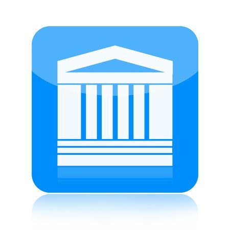 Government building icon photo