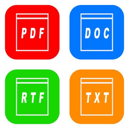 convert: Document icon set