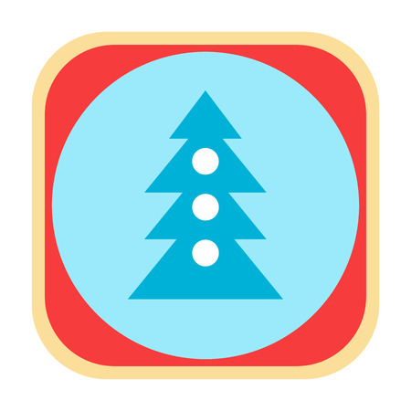 x mass: Christmas tree icon