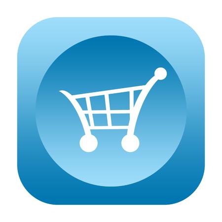 shoppingcart: Shopping cart icon isolated on white background