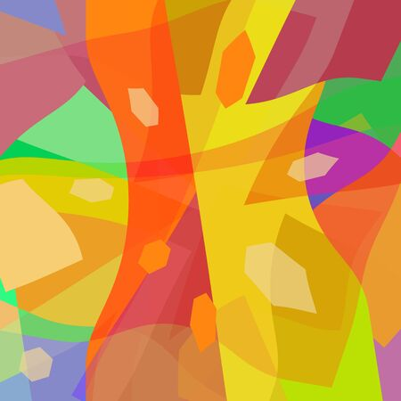 smithereens: Abstract background, bright colorful modern design